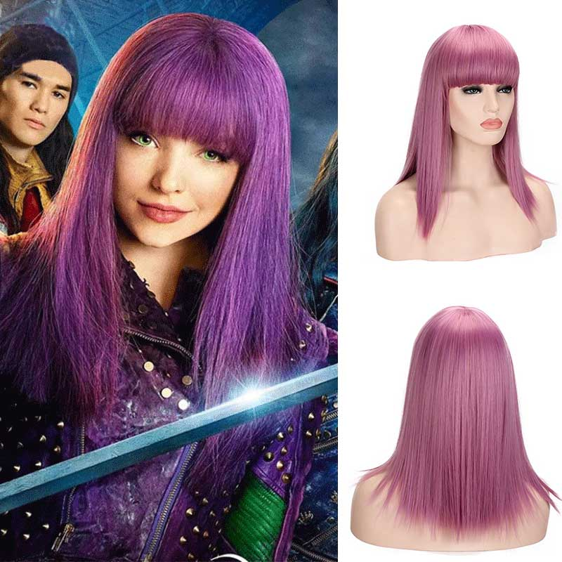 Descendants 2 Evie Wig Cosplay Costumes Anime Character