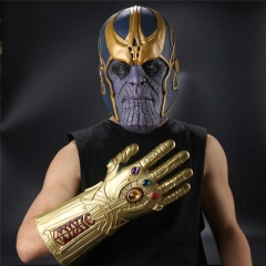 Avengers 3 Infinity War Thanos Cosplay Face Mask