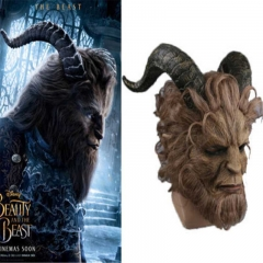 Solid Beauty and the Beast Adam Prince Mask Cosplay Horror Mask