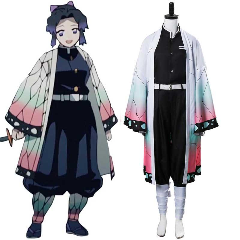 Demon Slayer: Kimetsu no Yaiba Kochou Shinobu Cosplay Costume
