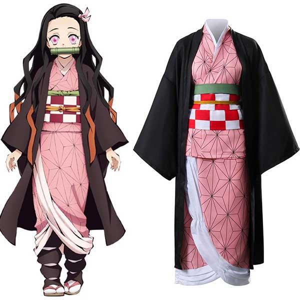Demon Slayer Kamado Nezuko Unifrom Cosplay Costume