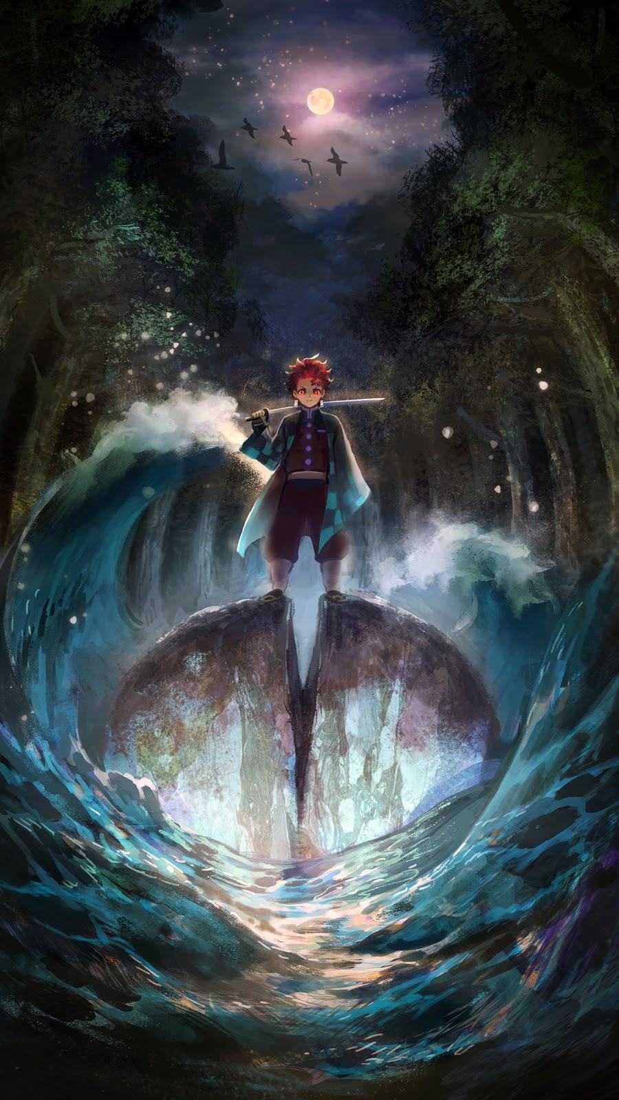 Anime Wallpaper HD: Wallpaper Kimetsu No Yaiba Tanjiro And