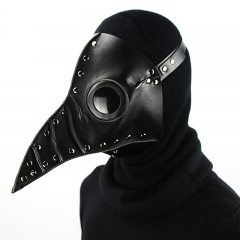 Dr. Beulenpest Steampunk Plague Doctor Mask PU Leather Birds Beak Masks Halloween