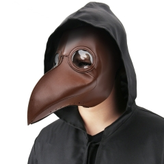 Steampunk Black Death Plague Doctor Schnabel Birds Beak Cosplay Mask In Stock