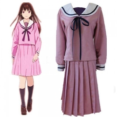 Anime Noragami Aragoto Iki Hiyori School Girl Uniform Cosplay Sailor Dress Halloween for Women