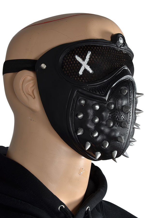 Game Watch Dogs 2 Marcus Wrench Latex Cosplay Mask