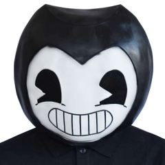 Bendy Latex Mask Halloween Costume Game Bendy and the Ink Machine