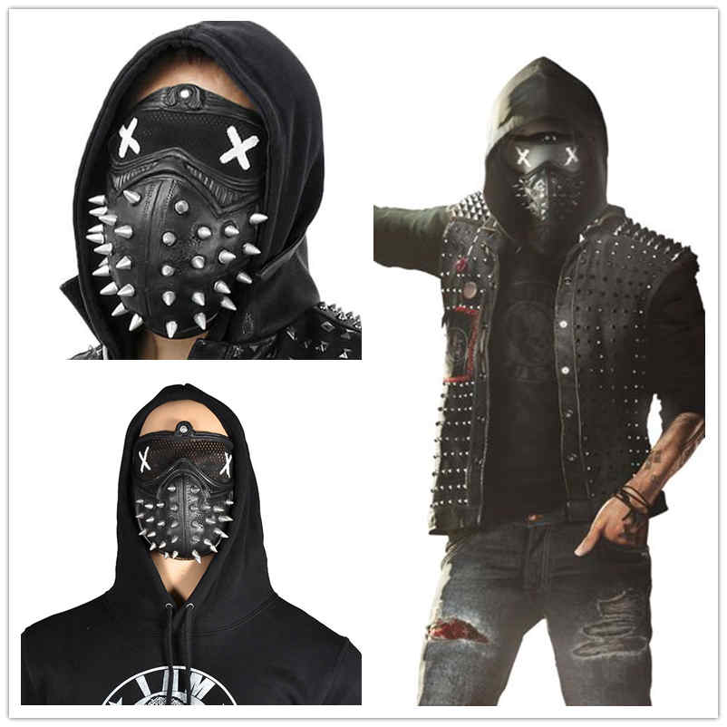 Watch Dogs 2 Wrench Mask Latex Marcus Cosplay