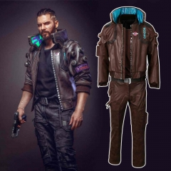 Cyberpunk 2077 Jacket Trousers Character V Bomber Cosplay