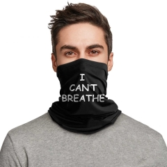 I Can't Breathe Outdoor Mouth Mask Neck Warmer