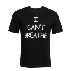 I can't breathe Black T-shirt Men's Protest Tee