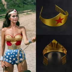 Hot Wonder Woman Tiara Crown Headgear Cosplay Accessories  Halloween Headwear