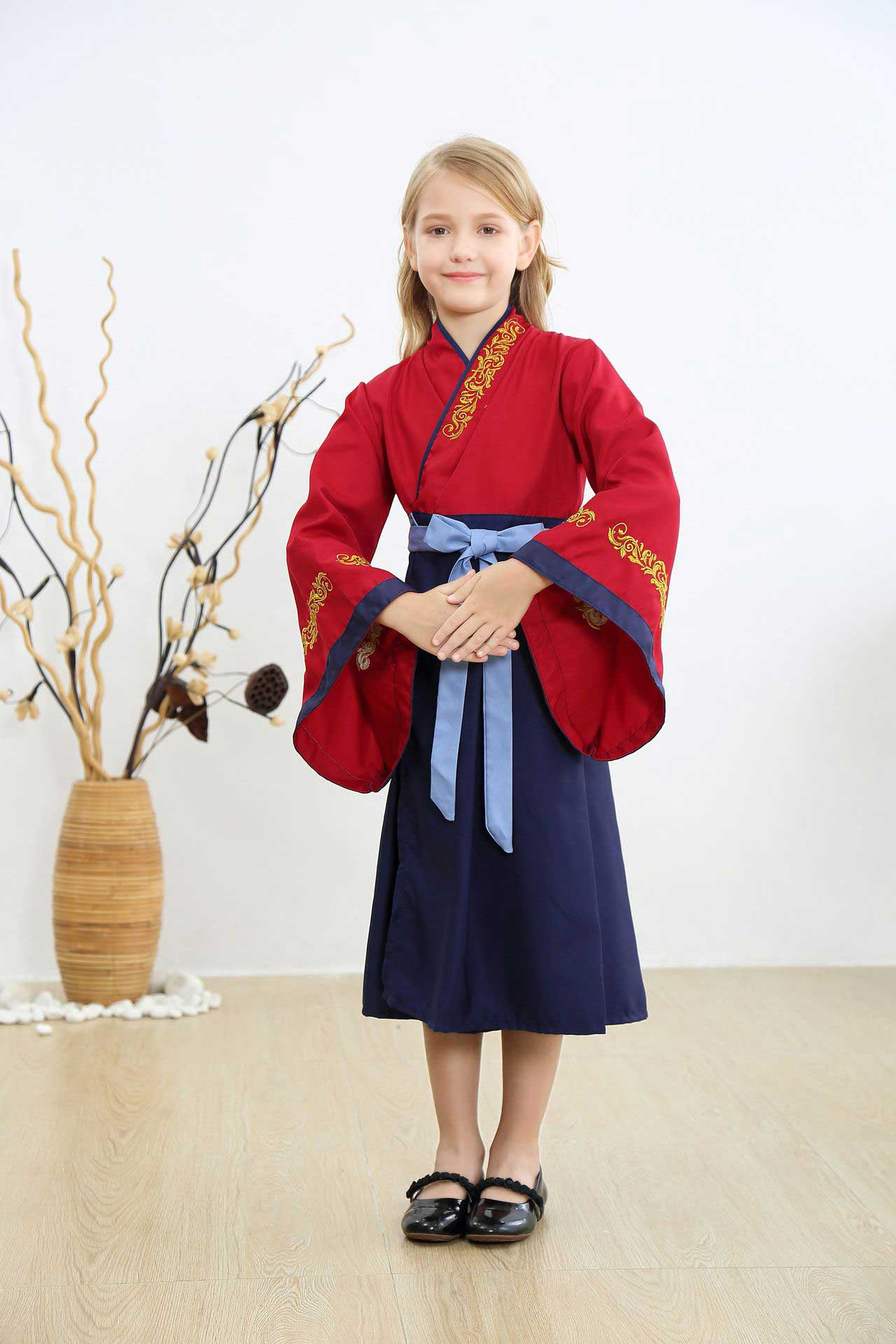 2020 Kids Hua Mulan Live Action Costume Cosplay Children S Clothing Princess Fancy Dress Kids
