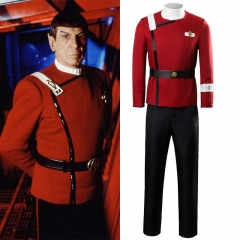 Star Trek II: The Wrath of Khan Starfleet Cosplay Costume James Tiberius Kirk​​​​​​​ Uniform