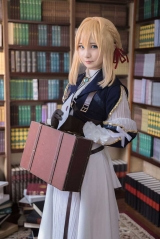 Anime Violet Evergarden Kyoto Cosplay Costume