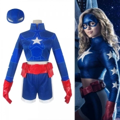 Stargirl Courtney Whitmore Halloween Cosplay Costume Top Shorts Outfit