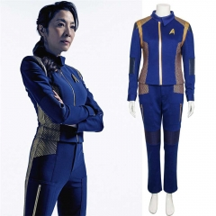 Star Trek Discovery Captain Georgiou Commander Cosplay Uniform