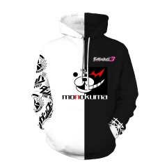 Monokuma Cosplay Hoodie Danganronpa: Trigger Happy Havoc