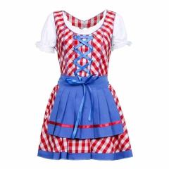 Oktoberfest Beer Dirndl Traditional Bavarian Dress Women