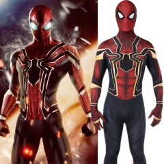 Iron Spider Suit Adult Spiderman Cosplay Costume Avengers: Infinity War