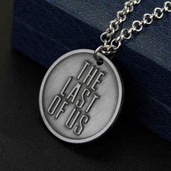 Game The Last of Us 2 Round Necklace Keychain