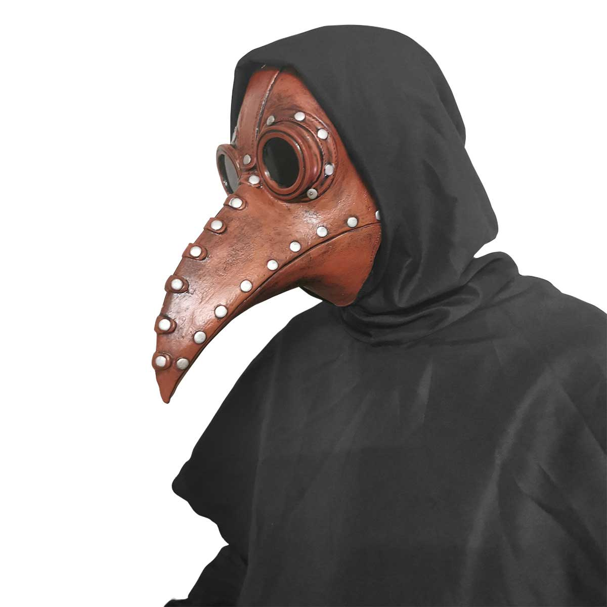 Scary Raven Gothic Plague Doctor Halloween Cosplay Face ...