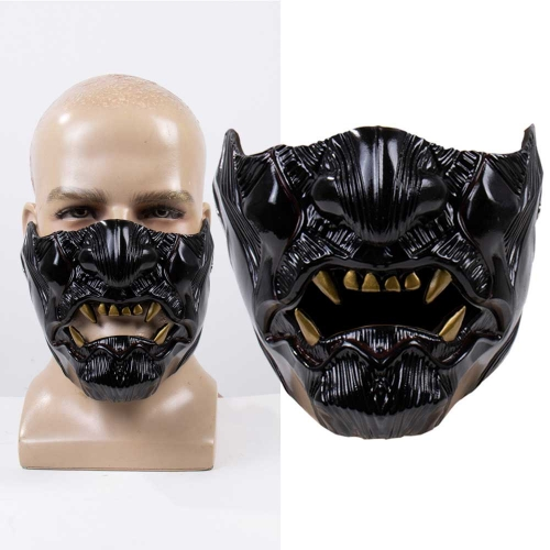 Ghost of Tsushima Face Mask Jin Sakai  Cosplay Game Accessory Prop