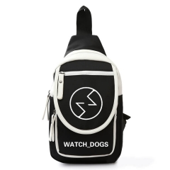 Game Watch Dogs 2 Wrench Chest Bag Single-Shoulde Packbag