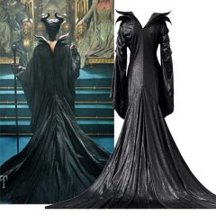 Maleficent 2 Cosplay Dress Mistress of Evil Angelina Jolie Halloween Costume