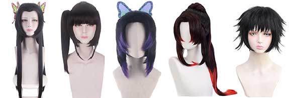 Halloween Cosplay Costume Wigs