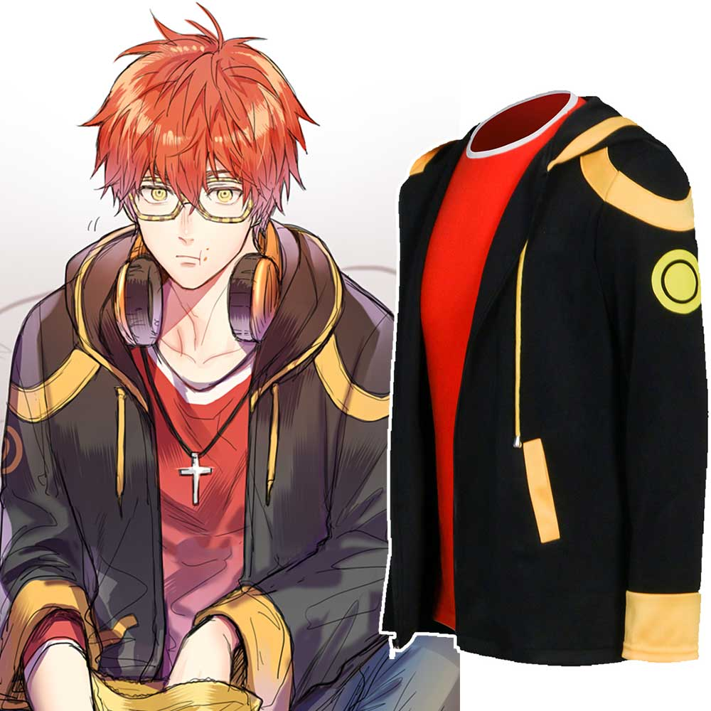 Mystic Messenger Cosplay Wigs Luciel Choi 707 Wig Cosplay Costume Party Wigs