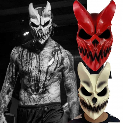 Slaughter to Prevail Alex Demon's Mask Demolisher Halloween Cosplay Accessory