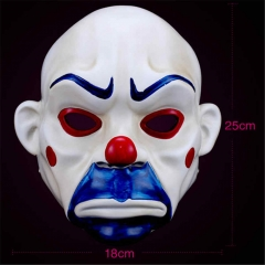 Joker Batman Dark Knight Resin Cosplay Mask Clown Masquerade Party Prop