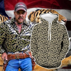 Tiger King Joe Exotic Trainer Hoodies Men's Halloween Cosplay Sweatshirt