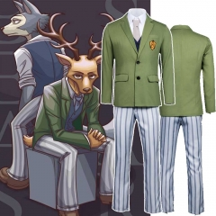 Anime BEASTARS Louis Legoshi Men Cosplay Costume Cherryton Academy School Uniform