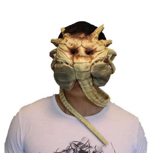 Facehugger Latex Face Mask Alien Covenant Halloween Costume Props