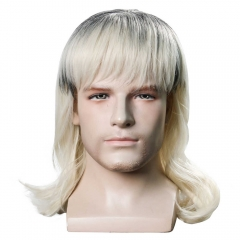 Tiger King Joe Exotic Trainer Halloween Cosplay Costume Wig Hair