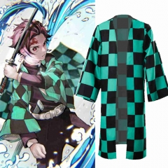 Adults Kamado Tanjirou Cosplay Costume Demon Slayer Kimetsu no Yaiba