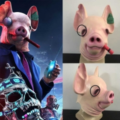 Watch Dogs Legion Mask Winston Pig Head