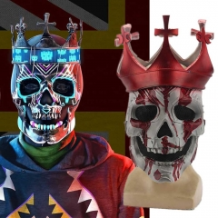 Watch Dogs 3 Legion Ded Coronet Skull Latex Face Mask