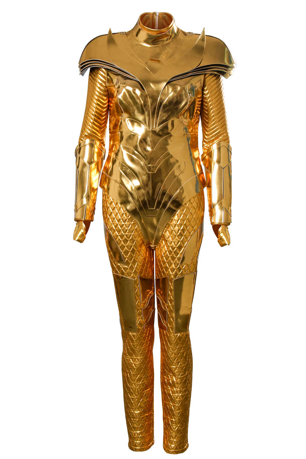 Diana Prince New Golden Eagle Armor Costume DC Wonder Woman 1984 Cosplay Costumes For Women -Takerlama