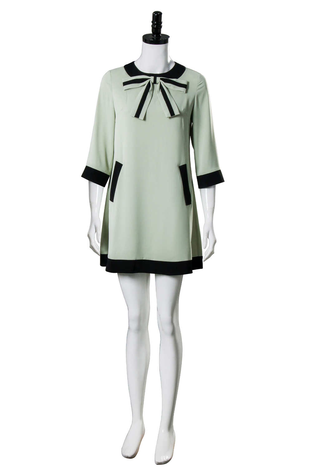 The Queen's Gambit Beth Harmon Vintage 60s Cosplay Costume Dress Adults Women
