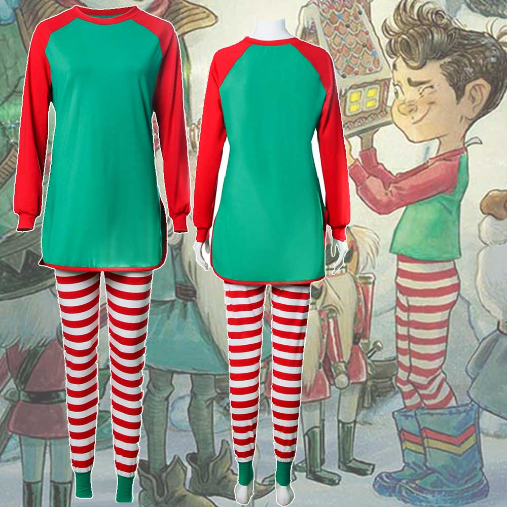 The Broken Ornament Jack Pajama Christmas Gifts Cosplay Costume-Takerlama