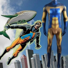 Superhero Animal Man Buddy Baker Cosplay Costume Bodysuit
