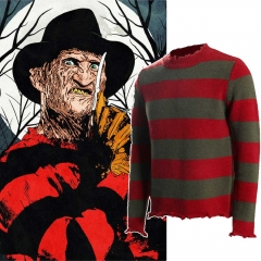 Freddy Krueger Sweater A Nightmare on Elm Street Adult Cosplay