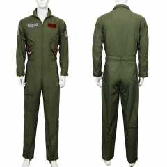 Maverick Flight Suit Men Costume Top Gun 2