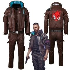 Cyberpunk 2077 Jacket Trousers Character V Bomber Cosplay Costume