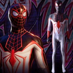 PS5 Miles T.R.A.C.K Suit Spider-Man Morales Cosplay Costume
