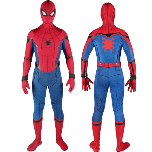 Spider-Man Homecoming  Peter Parker Suit With Mask Wrister