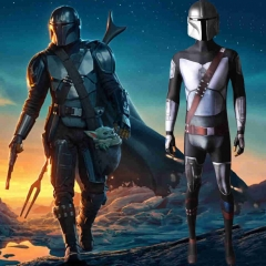 The Mandalorian Season 2 Zentai Suit Helmet Kids Adults